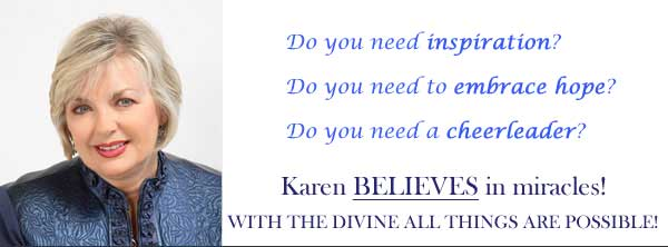 Karen Zizzo Spiritual Author, Coach and Speaker